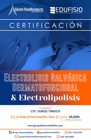 Electrolisis Galvánica Dermatofuncional y Electrolipolisis