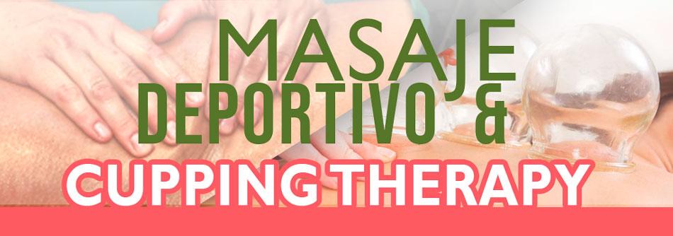 Masaje Deportivo and cupping therapy Mérida Yucatán Marzo 2021