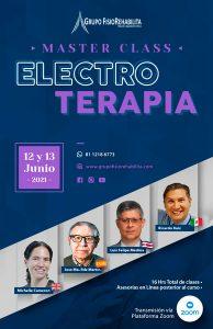 Master Class en Electroterapia Junio 2021