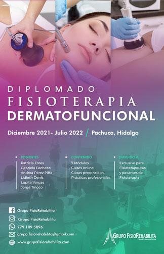 Diplomado en Fisioterapia Dermatofuncional - Hermosillo, Sonora