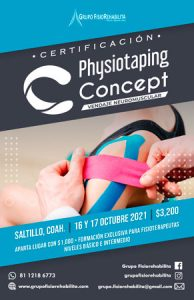 Vendaje Neuromuscular - Physiotaping Concept Saltillo