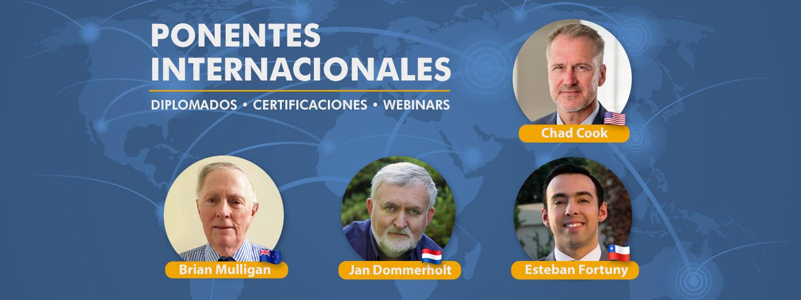 ponentes internacionales