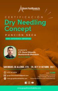 Certificación Dry Needling Concept